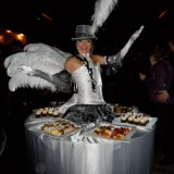 Silver-white-Table-Hat1